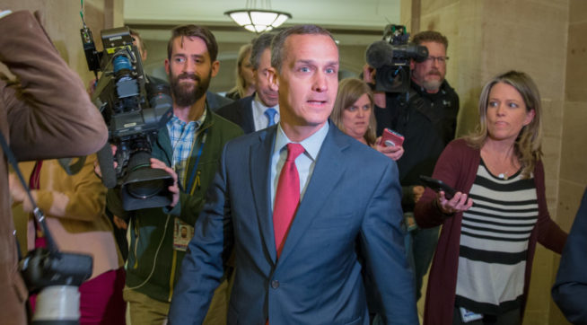 Lewandowski Joins Trump On Trip Just Days After Mocking Girl With Down Syndrome