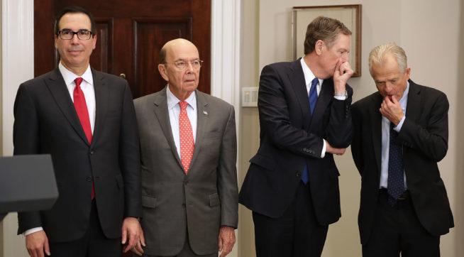 Uncertainty Over Trump's Trade Plans Creates Rift Between Mnuchin And Navarro