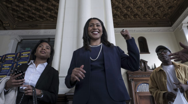 photo image San Francisco Set To Elect First African-American Woman Mayor