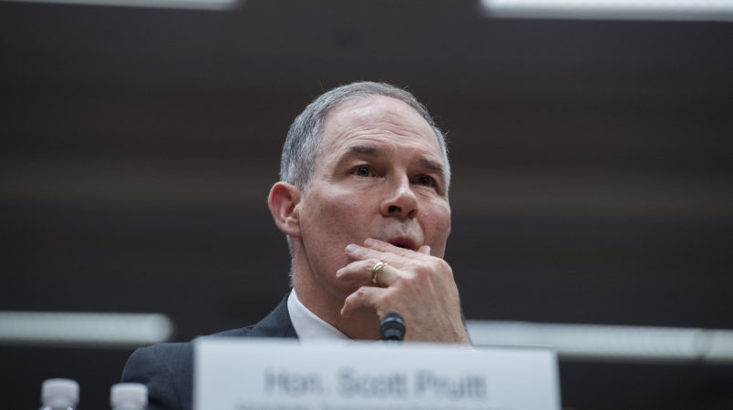 Pruitt Asked Top Aide To Secure 'Used Mattress' From Trump Hotel