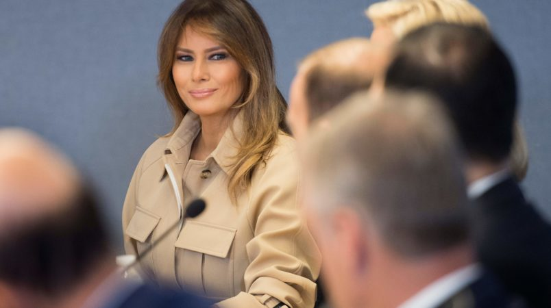 Trump attacks 'vicious and unfair' Melania rumours: 'All fake!'