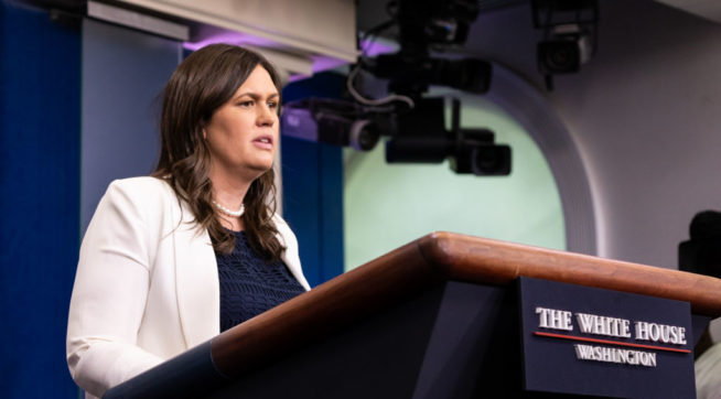 Sarah Huckabee Sanders: VA Restaurant Kicked Me Out 'Because I Work For POTUS'