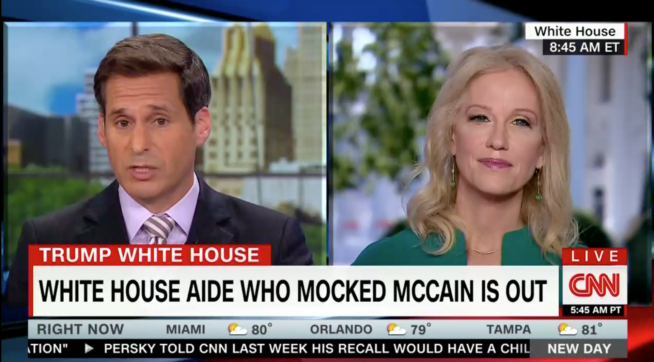 Conway Hints That Kelly Sadler Could Get Another Administration Job (VIDEO)