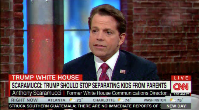 Scaramucci: Trump 'Has To End' This 'Atrocious, Inhumane Policy'