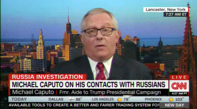 Caputo Pulls 180, Admits That He Did Contact A Russian During Campaign