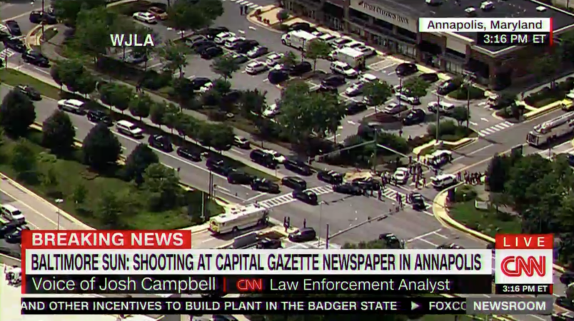 Annapolis shooting at Capital Gazette newspaper leaves 5 dead