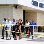 Fla. Rep. Kionne McGhee, Sen. Bill Nelson and Congresswoman Debbie Wasserman Schultz are denied entry into the Homestead Temporary Shelter for Unaccompanied Children on June 19, 2018 in Homestead, Fla. According to recent reports, there are about 1,000 migrant children currently being held at the Homestead facility, some of whom were separted from their families at the border and others who were unaccompanied minors. (Susan Stocker/Sun SEntinel/TNS)