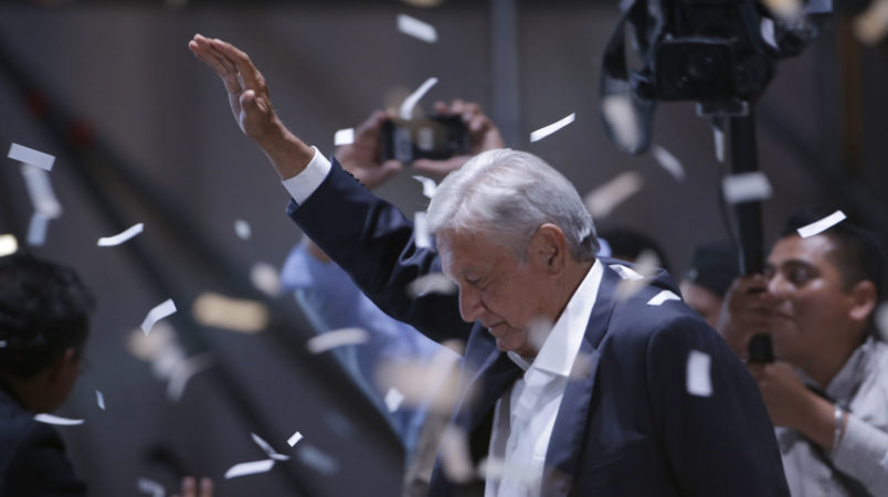 Mexican leftist vows fiscal discipline, seeks friendly USA ties