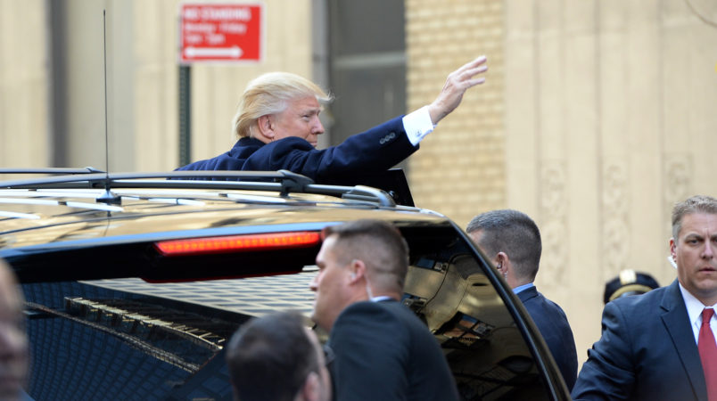 Trump being sued for allegedly stiffing his ex-chauffeur