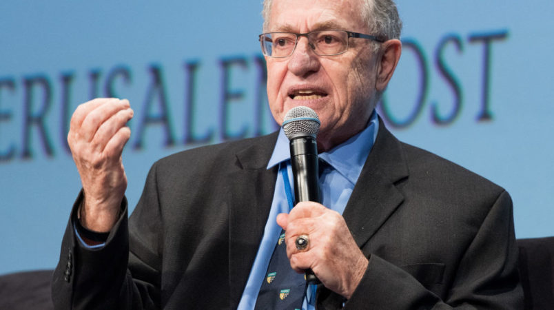 Dershowitz: Woman on Martha's Vineyard Threatened to 'Stab Me Through the Heart'