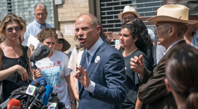 photo image Avenatti Working For 2 Girls In NY Separated From Parents At Border